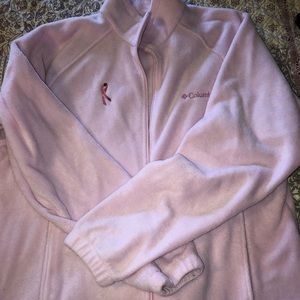 Columbia Breast Cancer Fleece Full-Zip Jacket